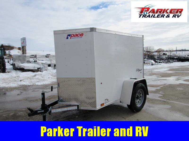 2021 Pace American PSCAA4.0X6SI2FC Enclosed Cargo Trailer