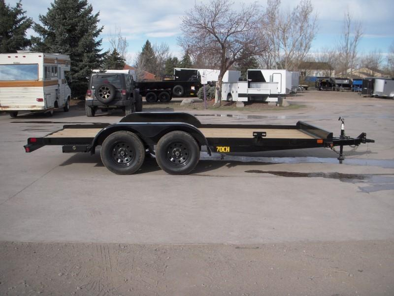 2020 Big Tex Trailers 70CH-16 Flatbed Trailer