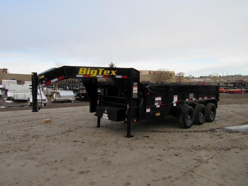 2020 Big Tex Trailers 21GX-16BK7SIR Dump