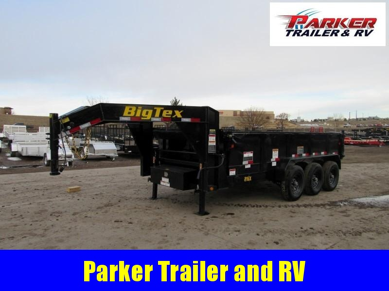 2020 Big Tex Trailers 21GX-16BK7SIR Dump