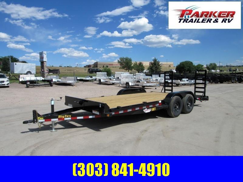 2020 Big Tex Trailers 10ET-18BK-MR Flatbed Trailer
