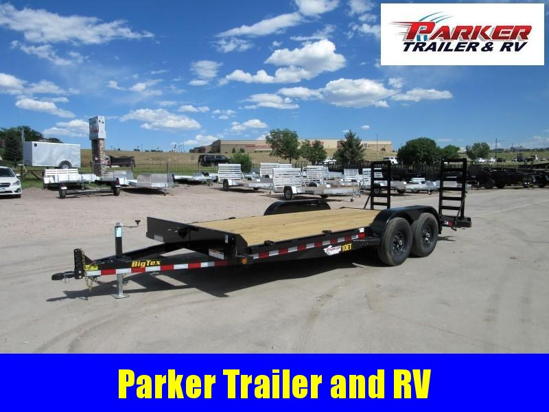 2020 Big Tex Trailers 10ET-18BK-MR Flatbed Trailer