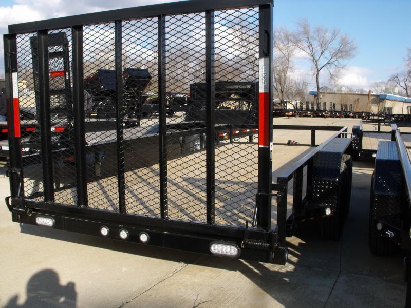 Utility Trailer ATV Trailer 77 X 16   4 WL Brakes 7000 GVW