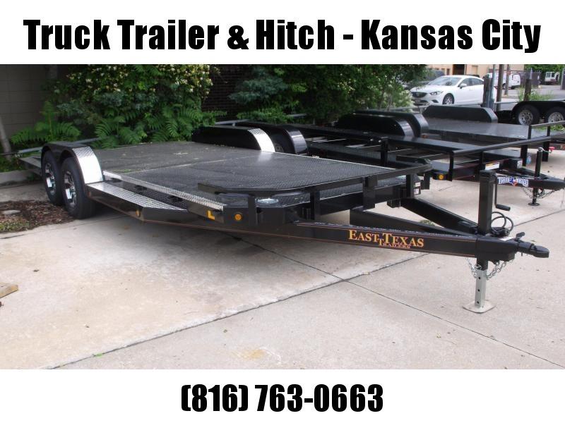 Car Hauler 83 X 20 Dream Hauler Split Tail  Metal Deck Dove 7000 GVW 4 WL Brakes
