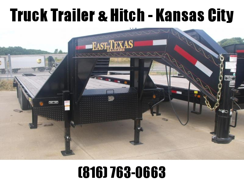 Gooseneck Deckover 8.5 X 20 Equipment Trailer 20K