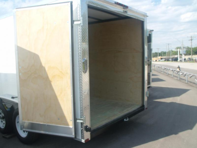 "Enclosed Trailer 7 X 12 BARN DOOR 7000 GVW 6' 3"" Height"