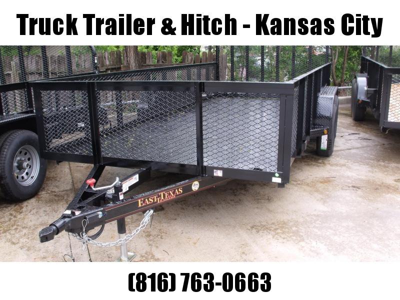 High-Wall  Metal Trailer Landscape Trailer 83 X 16  Ramp 7000 GVW