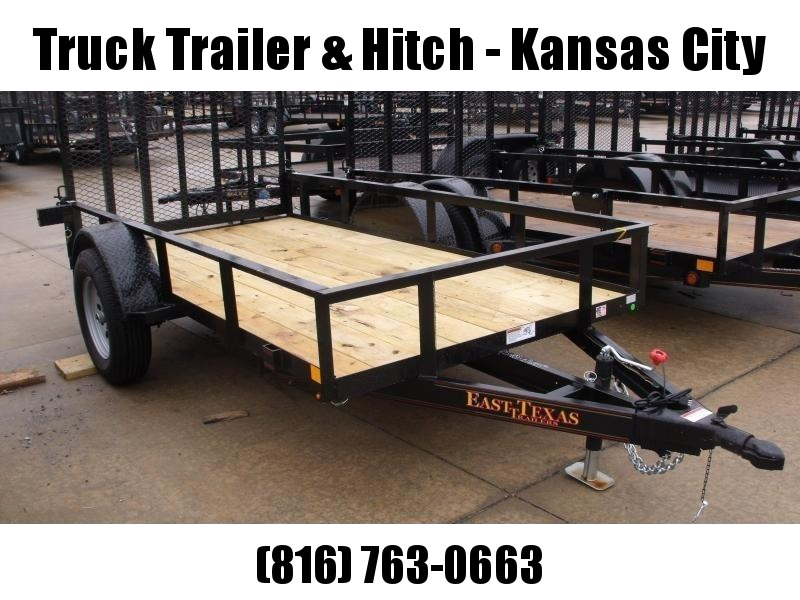 Utility Trailer 5 X 10 Ramp 2990 Axle Spring Assist Gate