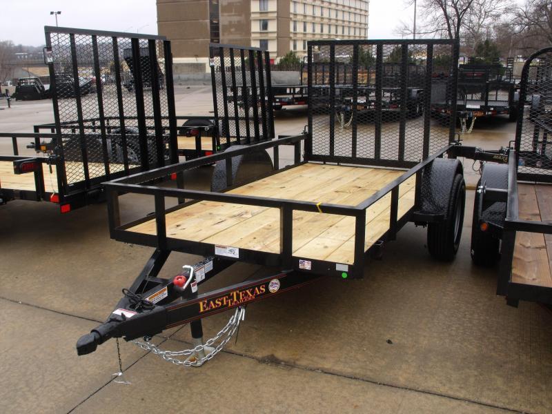 Utility Trailer 5 X 10 Ramp 2990 Axle Spring Assist Gate