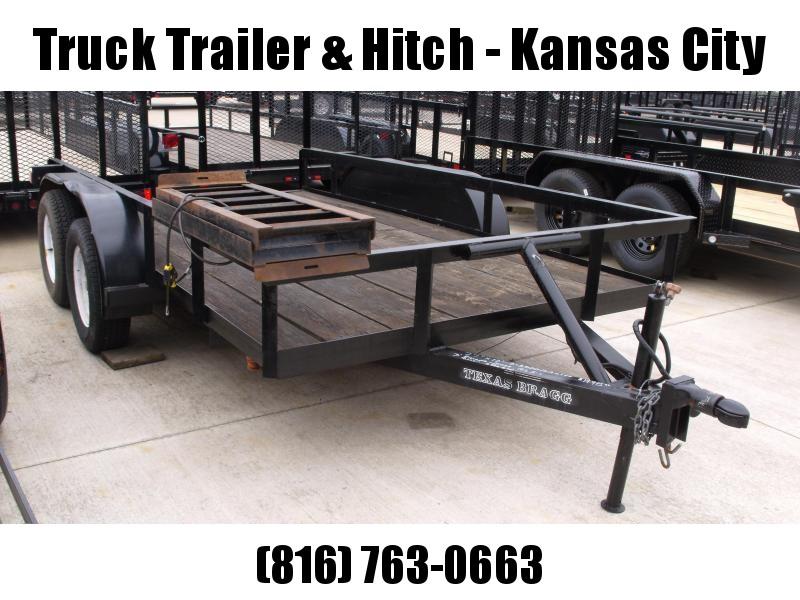 Utility Trailer 77 X 12        7000 Gvw Used Trailer Brakes