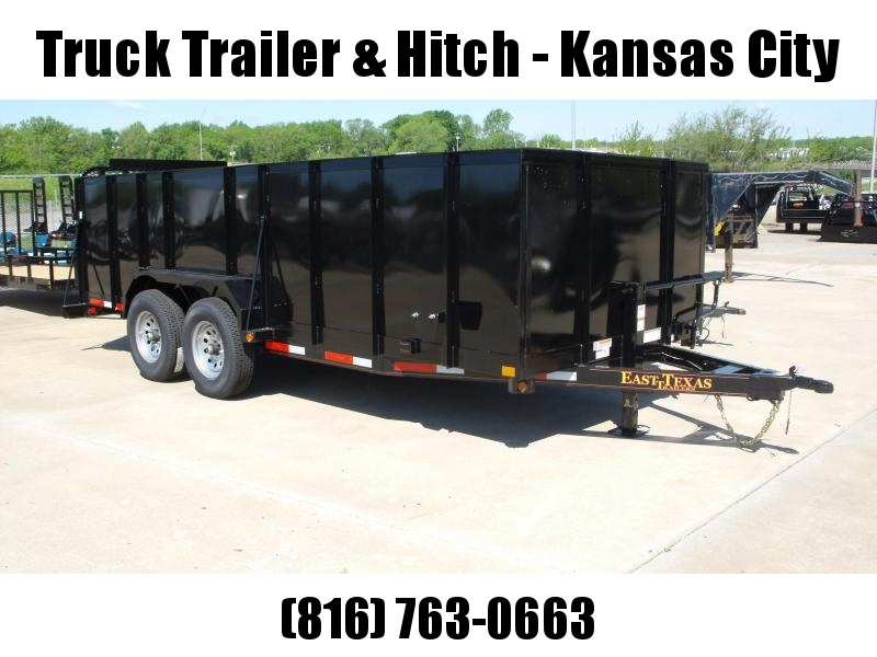 Landscape Trailer Roofing Trailer  83 X 18 Steel High Wall HD Tube Gate 12000 GVW