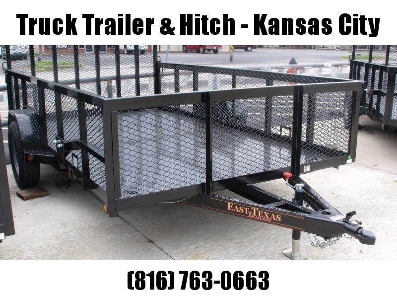 High-Wall Trailer 77 x 12 All Steel Trailer Mesh Sides  2990 Axle