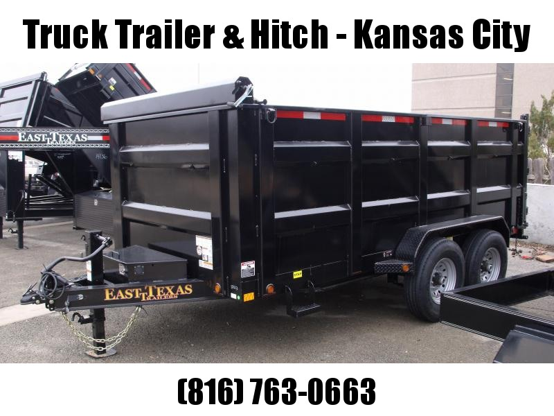 Dump Trailer 4' Walls   83 X 14  I-Beam Type 14000 Gvw Tarp Included