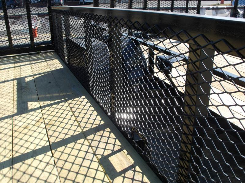 High-Wall Landscape Trailer 83 X 12 Spring Assisted Gate