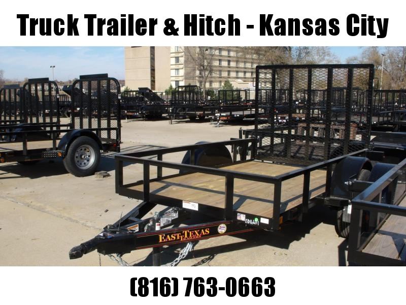 Utility Trailer 5 x 8 Ramp  2990 # Axle LED Lights