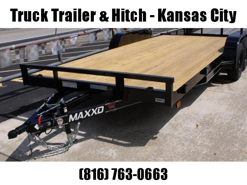 "Car Hauler 83"" X 18 Dove 7000 GVW Treated Wood  Deck Ramps MAXXD"