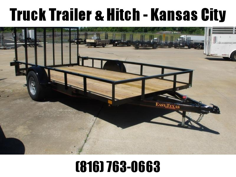 Utility Trailer 83 X 14 Ramp 2990 Axle Wrapped Tongue