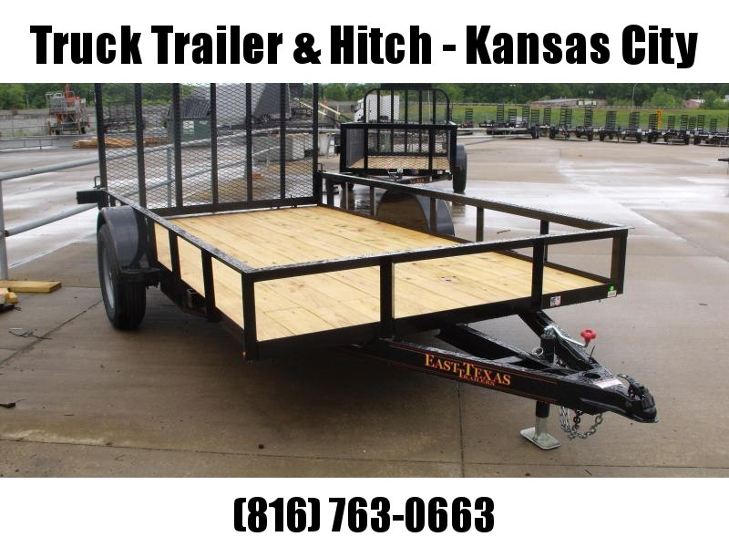 Utility Trailer 77 X 12 With Spring Assisted Ramp