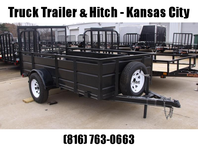 used Hi-Wall Trailer 5 x 10 Ramp Utility Trailer