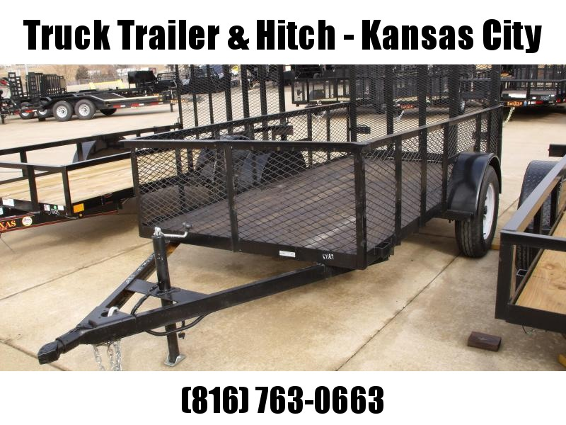 Homemade Trailer High-Wall 5 X 10  Utility Trailer  With Ramp
