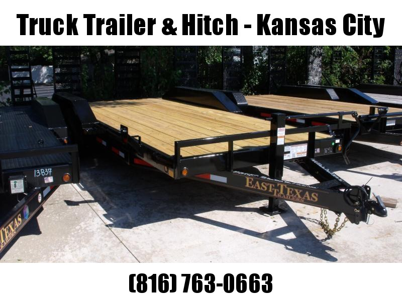 Equipment Trailer - Car Hauler 83 X 20  Metal Dove Combo Ramps Covered With #6 Mesh  14000 GVW