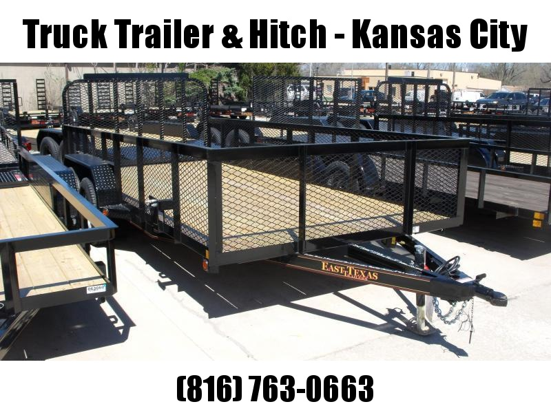 High-Wall  Landscape Trailer 83 X 14  Ramp 7000 GVW