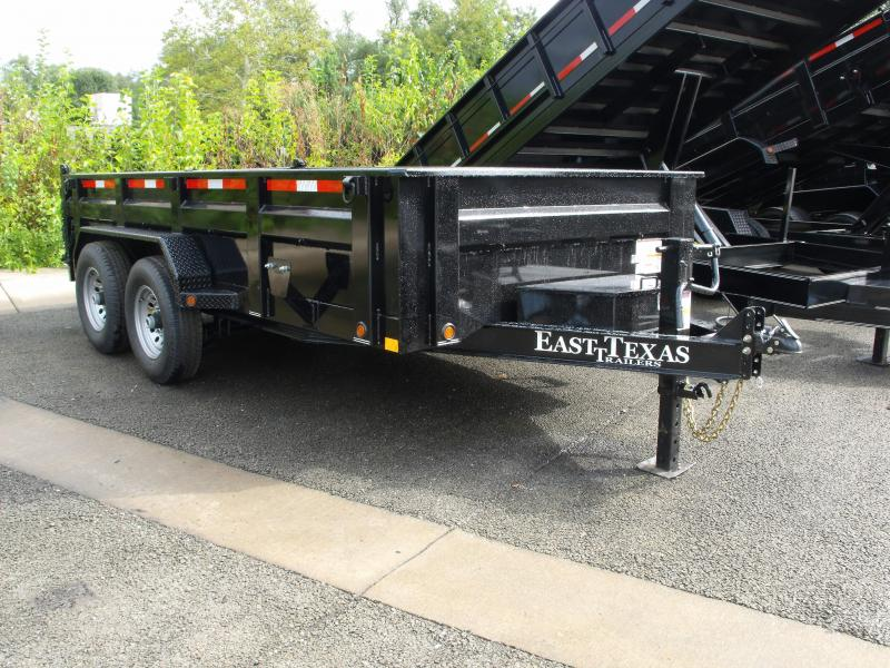 Dump Trailer LOW PRO  83 X 14   14000 Gvw