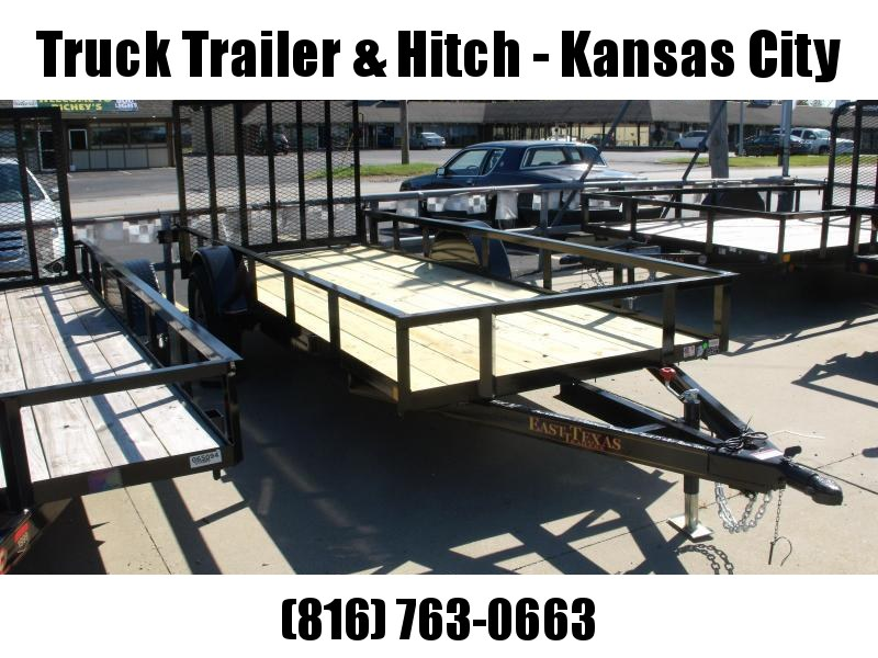 Utility Trailer 5 X 14 Ramp 2990 Axle Wrapped Tongue