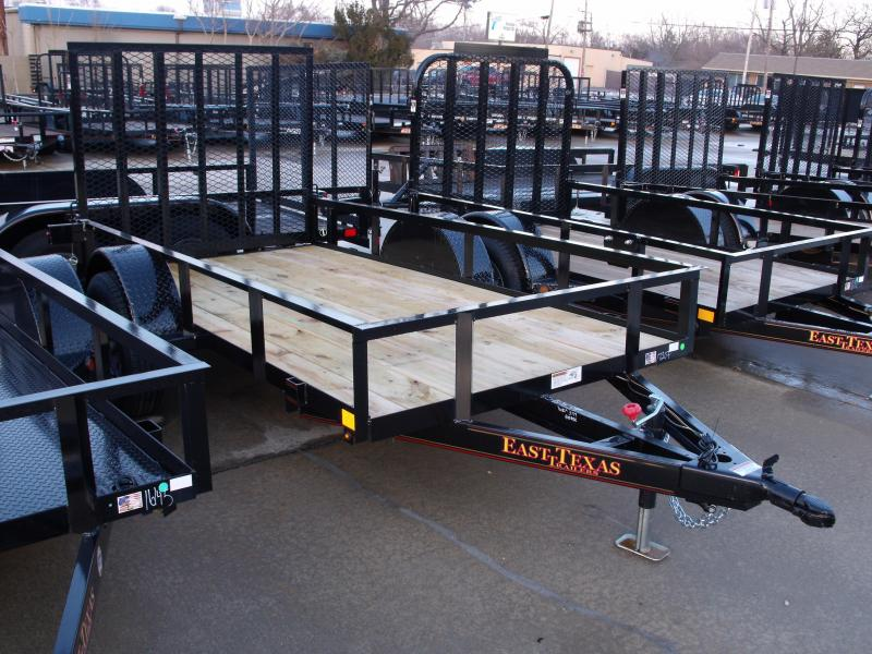 Utility Trailer 5 X 10  Spring Assisted  Ramp 2990 # Axle