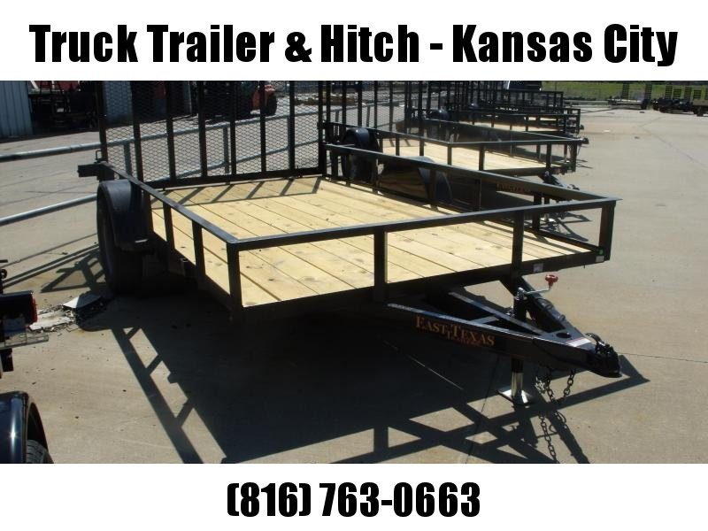 Utility Trailer 83 X 12 With Spring Assisted Ramp