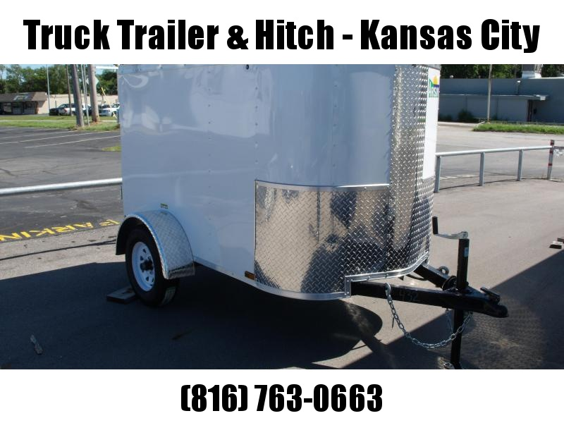 Enclosed Trailer 4 X 6 Barn Door All Tube Construction