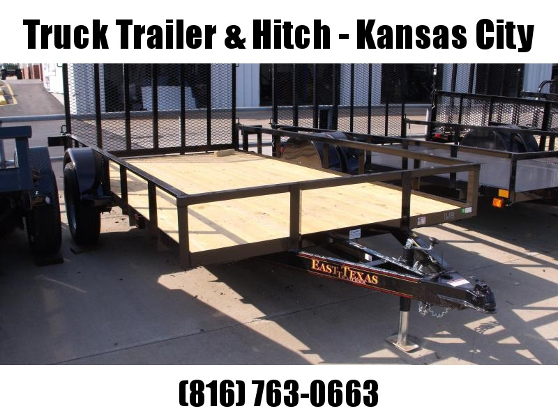 LOOK AT THIS     Utility Trailer 77 X 12  Ramp  LED Lights