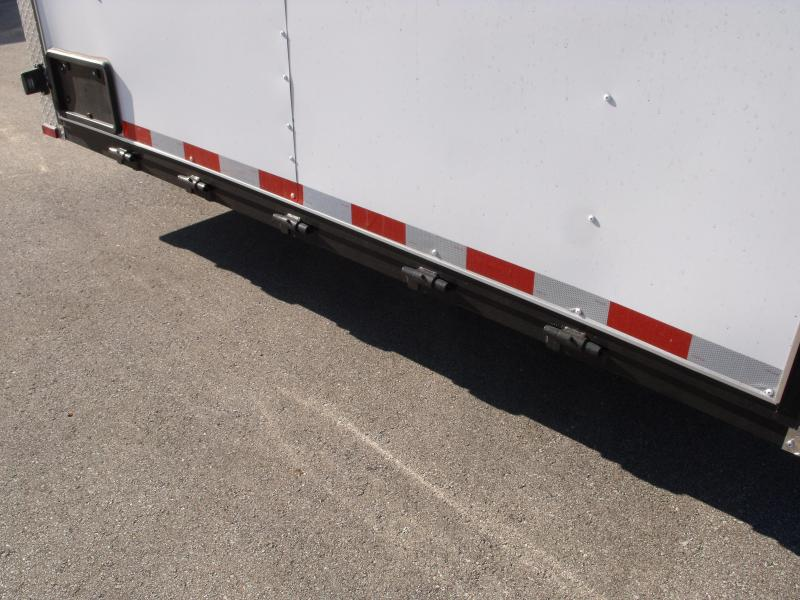 Enclosed Trailer 8.5 X 20 Ramp   7 ' Interior 9990 GVW ALL TUBE Construction  4 Wheel Brakes