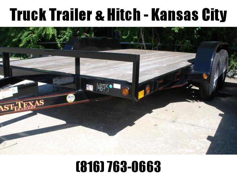Car Hauler 83 X 14 Ramps 7000 GVW LED Lights