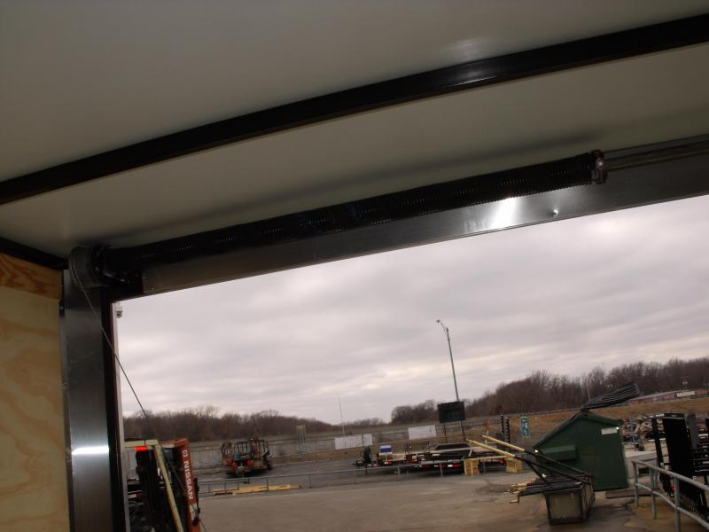 Enclosed Trailer 8.5 X 20 Ramp 7' Interior White In Color ALL Tube Construction