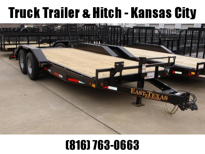 "Eqpt Trailer 83 X 20 Metal Dove  """"Drive Over Fenders """"""Combo Ramps  14000 GVW"