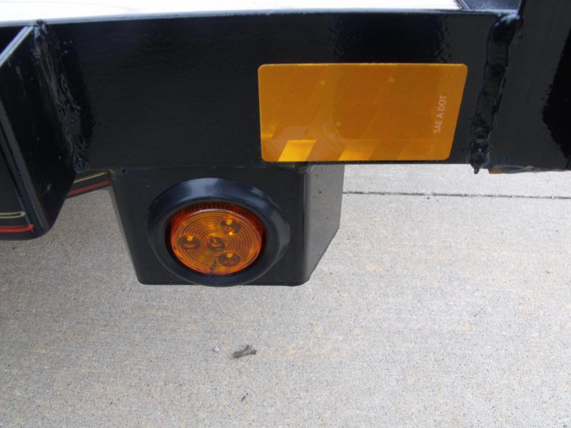 Utility Trailer 5 X 8 Spring Assisted Tubular Gate  Flush Mounted LED Lights