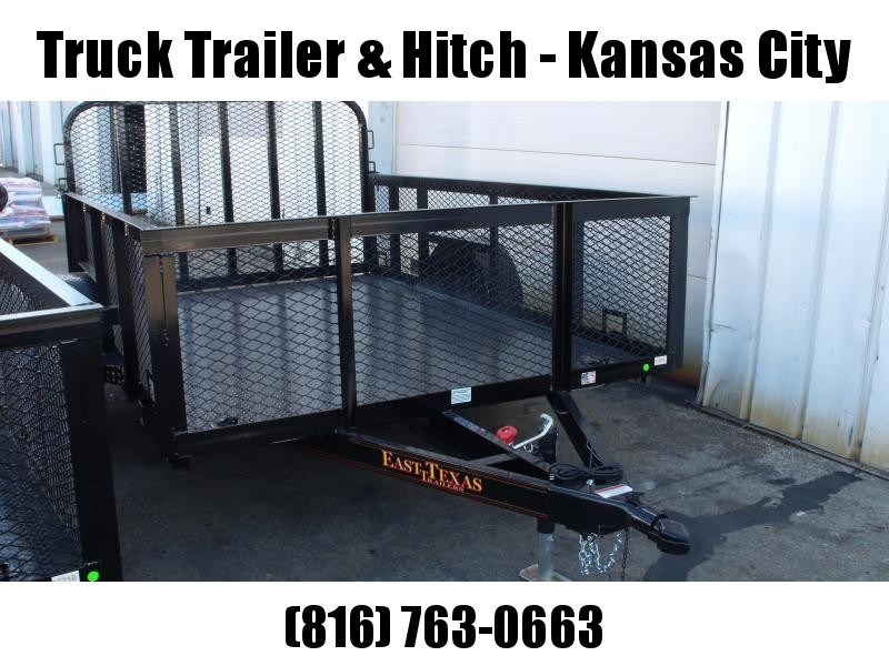 High-Wall Trailer 77 x 10 All Steel Trailer Mesh Sides  2990 Axle