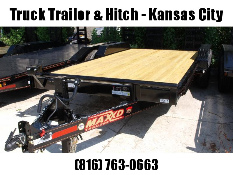 Equipment Trailer 83 X 18 Ramps 14000 GVW  Combo Ramps