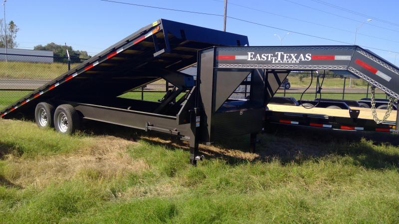2020 East Texas 24ft Hyd Tilt Equipment Trailer