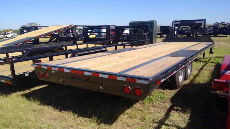 2020 Delco Trailers 25ft Flatbed Trailer