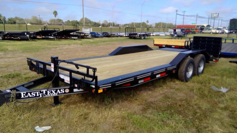 2020 East Texas 102x22ft Equipment Trailer
