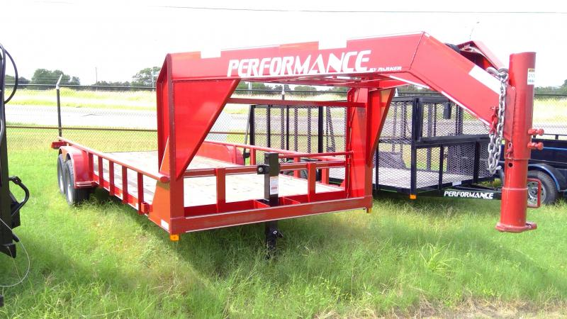 2018 Performance Trailers 20ft Lowboy Equipment Trailer