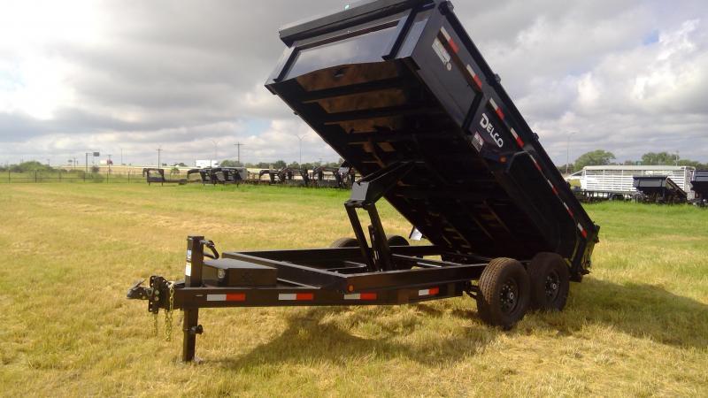 2020 Delco Trailers 14 ft Bumper Pull Dump Dump Trailer