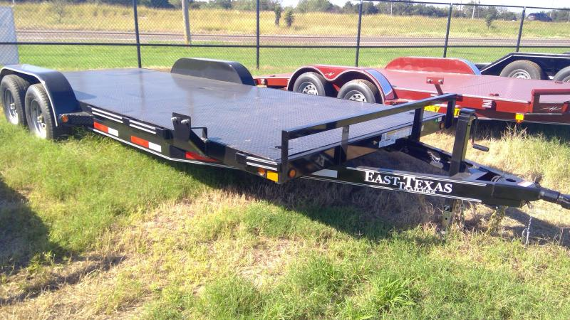 2020 East Texas 20ft Steel Floor Car / Racing Trailer