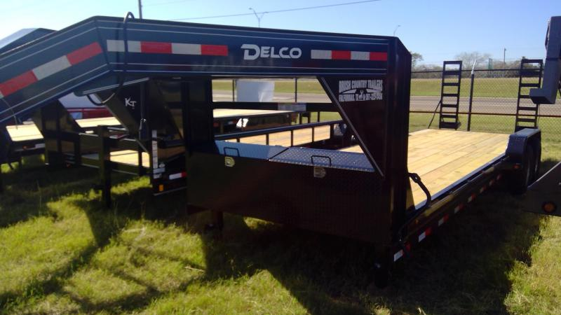 2020 Delco Trailers 83x24 Equipment Trailer