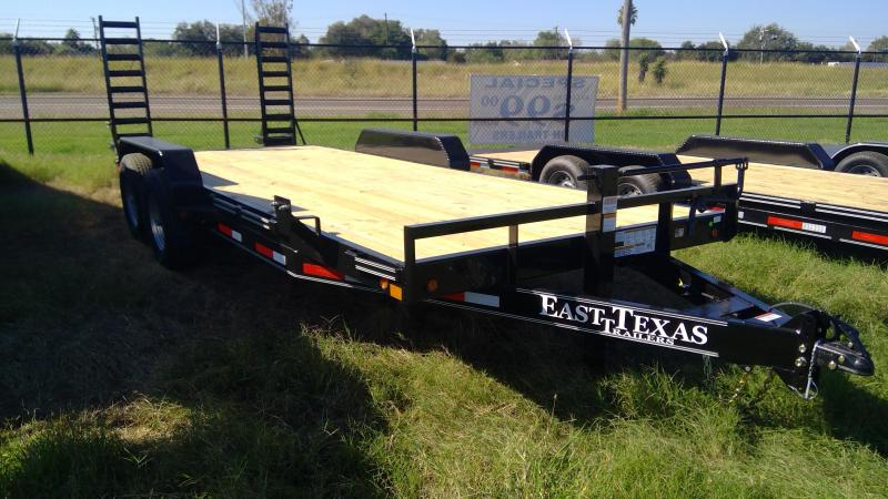 2020 East Texas 20ft Equipment Trailer