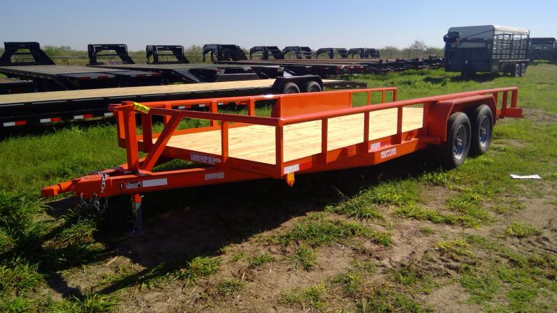 2020 Kearney 20ft pipe top Equipment Trailer