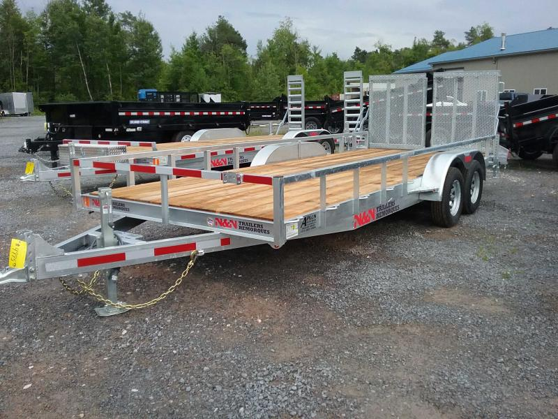 2019 N and N Trailers ILT82x16-7K Utility Trailer