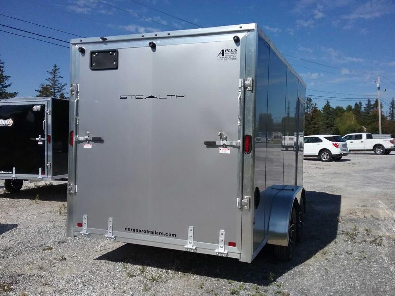 2020 Alcom-Stealth C7X14-IF Enclosed Cargo Trailer